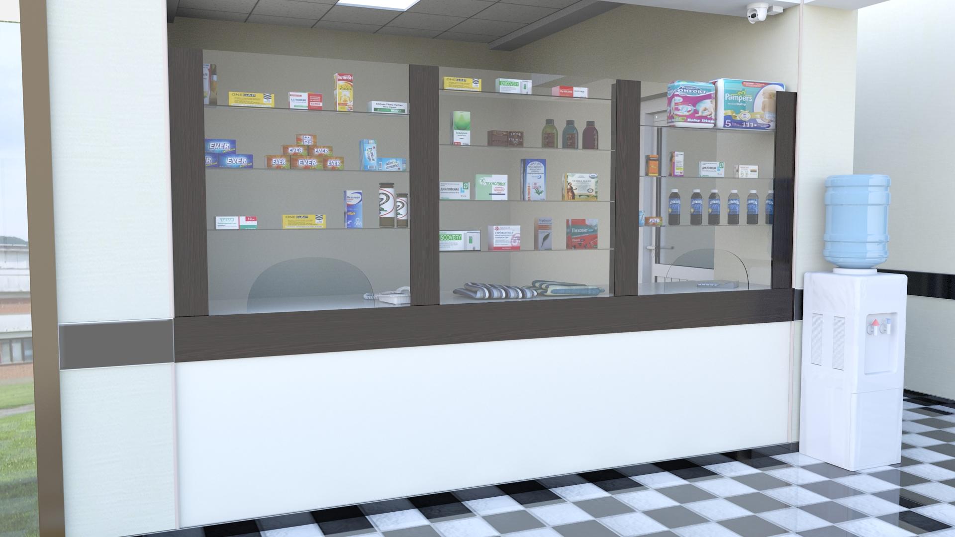 Проект госпиталя