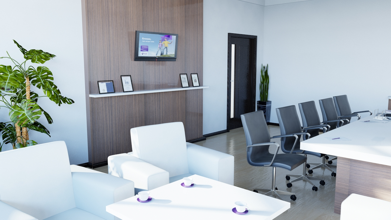 Проект офисного кабинета
